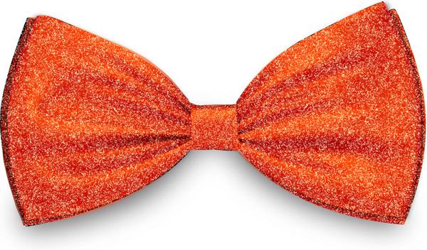 orange cotton knot icon vector