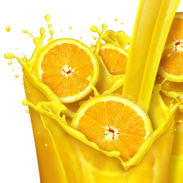 orange juice highdefinition picture
