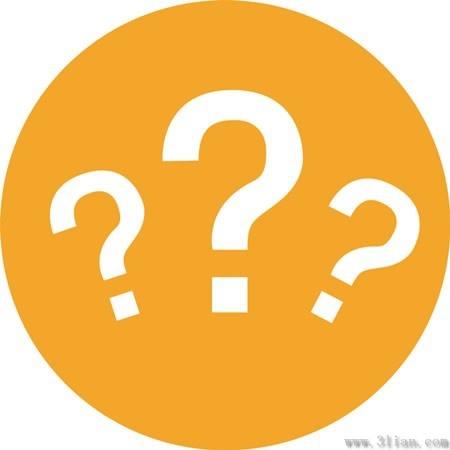 orange question mark icon vector free vector in adobe illustrator ai rh all free download com question mark vector image question mark vector graphic