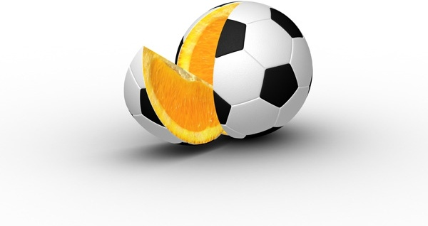 oranges dressed in football leather highdefinition picture