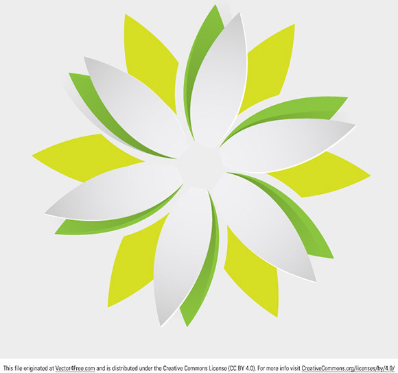 Origami Flower Free Vector 38192KB