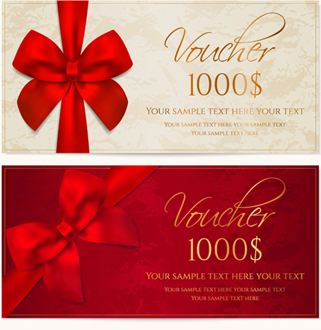 √ Gift Voucher Vector Free Download
