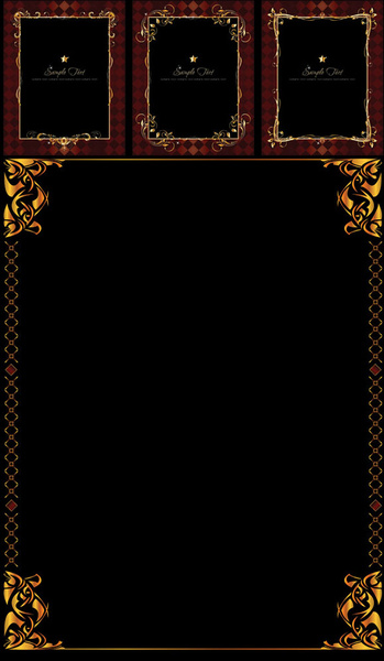 gold border vector free vector download  7 648 free vector