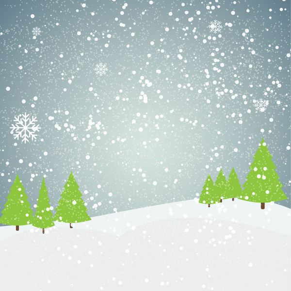 outdoor snow flake landscape