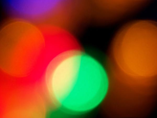 outoffocus christmas lights