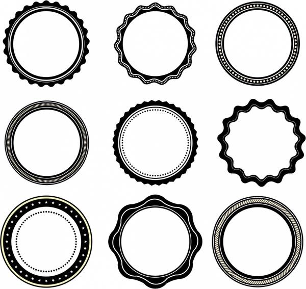 Oval Design Elements