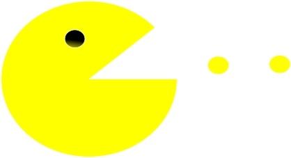 Pac Man Logo Svg File Free Vector Download 97 973 Free
