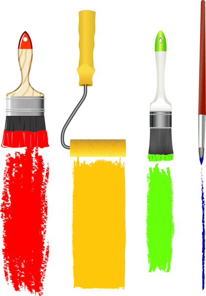 vector paint brushes free vector download (5,097 free vector) for