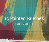 Painted Strokes Brushes – CS3