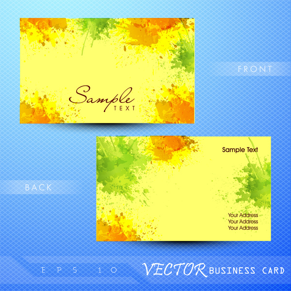 painting business card - Painting Business Cards