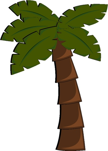 palm tree free vector in open office drawing svg svg vector