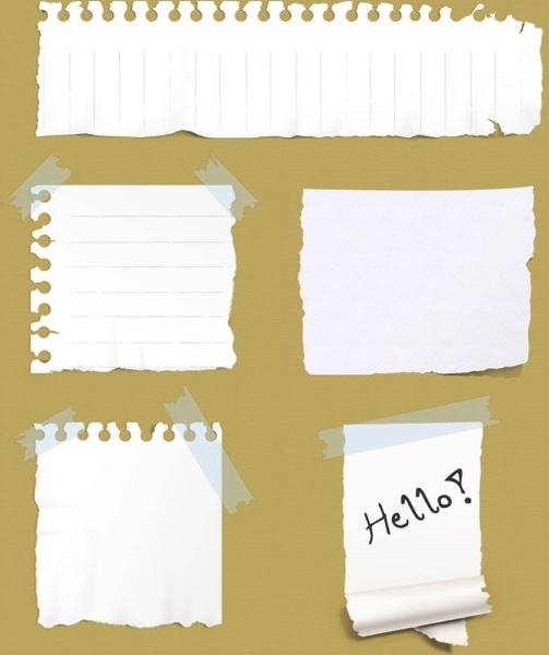 Paper Sticker Psd Layered Free Vector In Photoshop Psd