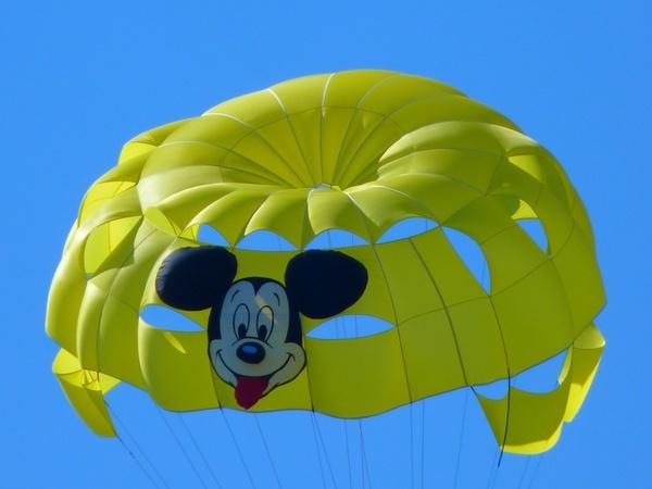parasailing controllable parachuting parachute