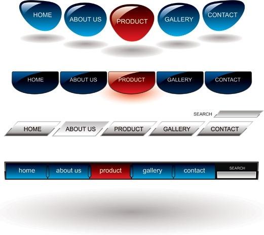 particular vector 2 navigation bar