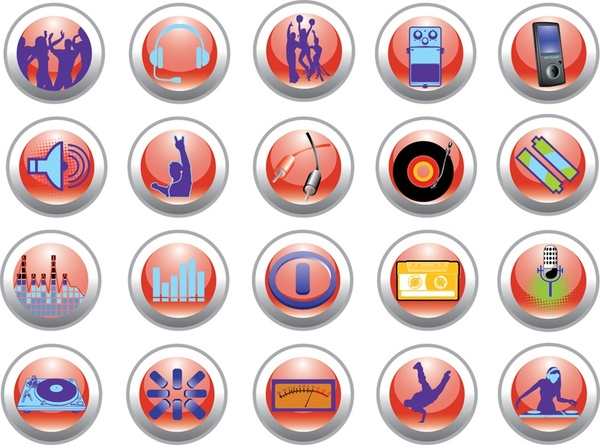 Party Icons icons pack