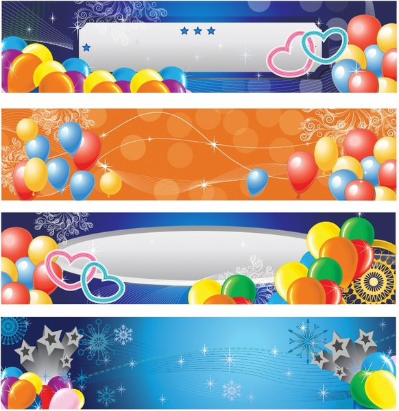 Party Star and Balloon