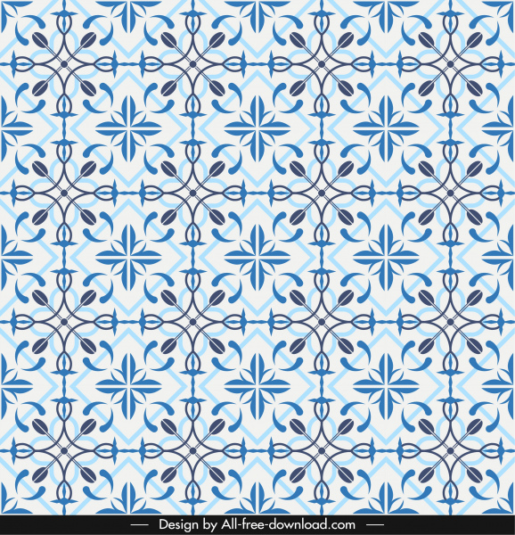 pattern template repeating symmetrical seamless decor