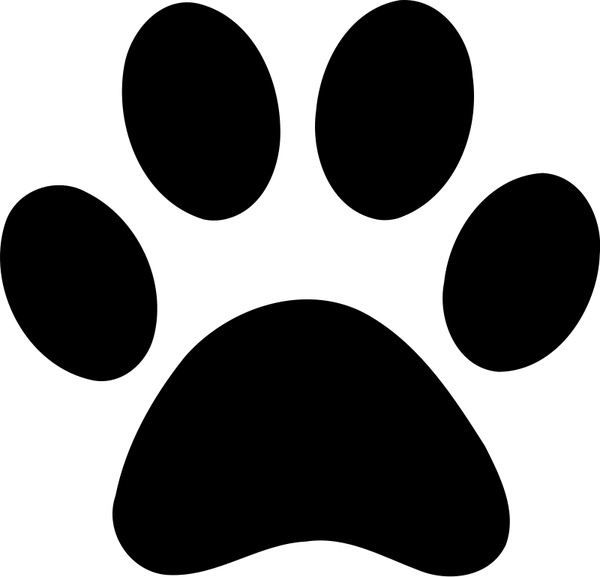 Paw Print Free Vector In Open Office Drawing Svg Svg Vector