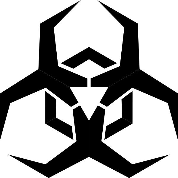 Pbcrichton Malware Hazard Symbol Clip Art Free Vector In Open Office