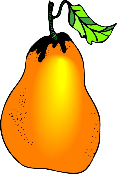 Pear clip art free vector in open office drawing svg for Clipart gratis download