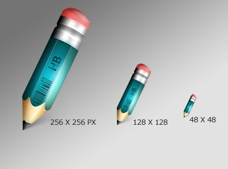 Pencil Icon icons pack