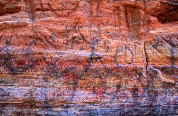 petroglyphs at roche a cri state park wisconsin