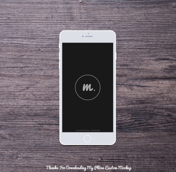 phone custom mockup free psd