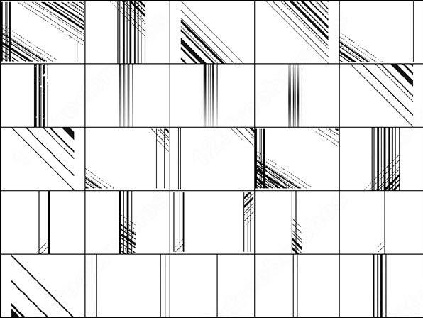 photo lines brush