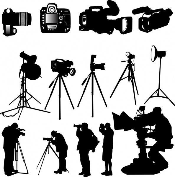 photographing design elements black silhouettes decor