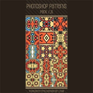 Photoshop Patterns - Pack 31