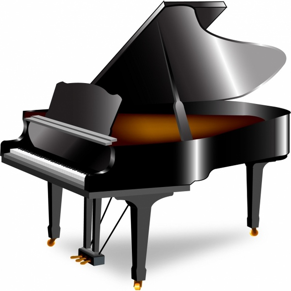 Piano Free Vector In Adobe Illustrator Ai AI Encapsulated