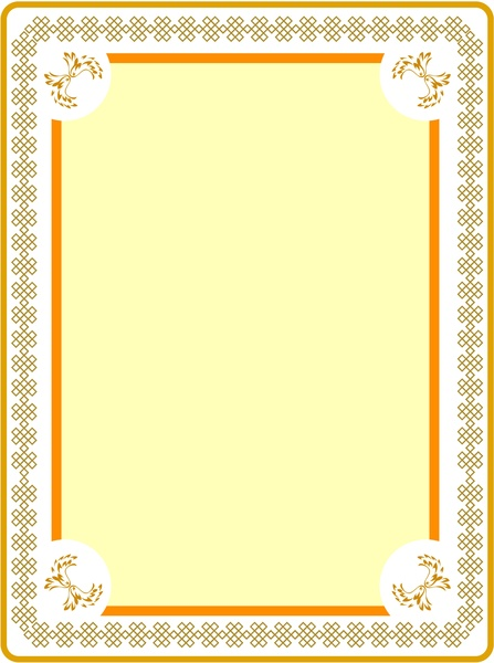 Frame Design To Picture Frame Design With Classical Style Picture Free Vector In Adobe