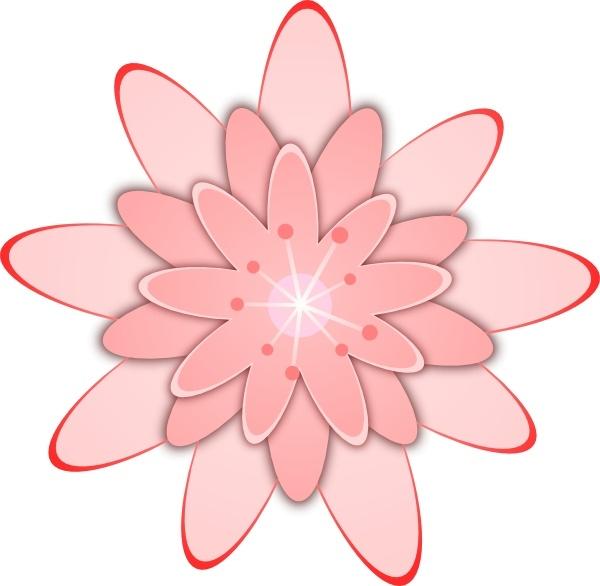 Pink flower clip art free vector in open office drawing svg g pink flower clip art free vector 20727kb mightylinksfo