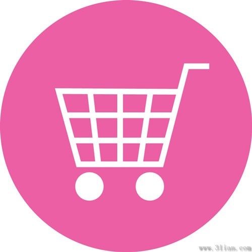 pink shopping cart icon vector free vector in adobe christmas shopping clipart funny christmas shopping list clipart