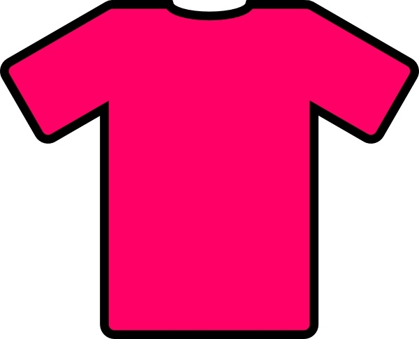 Pink T Shirt Clip Art Free Vector In Open Office Drawing Svg Svg Vector Illustration Graphic Art Design Format Format For Free Download 24 10kb