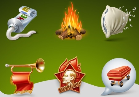 Pioneer Camp Icons icons pack