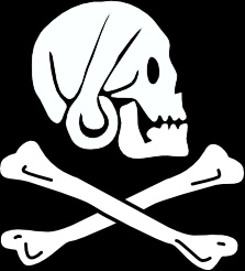 pirate flag henry every clip art free vector in open office drawing