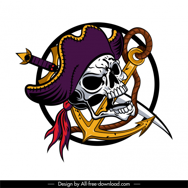 Pirate Skull Icon Anchor Rope Sword Decor Free Vector In Adobe Illustrator Ai Ai Format Encapsulated Postscript Eps Eps Format Format For Free Download 2 19mb Download free and premium icons for web design, mobile application, and other graphic design work. pirate skull icon anchor rope sword