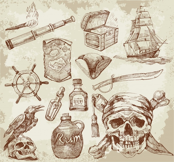 Wallpaper Treasure Who Invented The Automobile: Pirate Free Vector Download (188 Free Vector) For