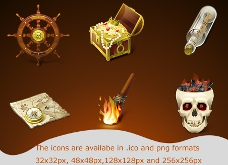 pirates icons icons pack
