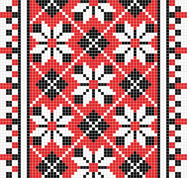 traditional pattern templates classical pixel decor flat symmetric