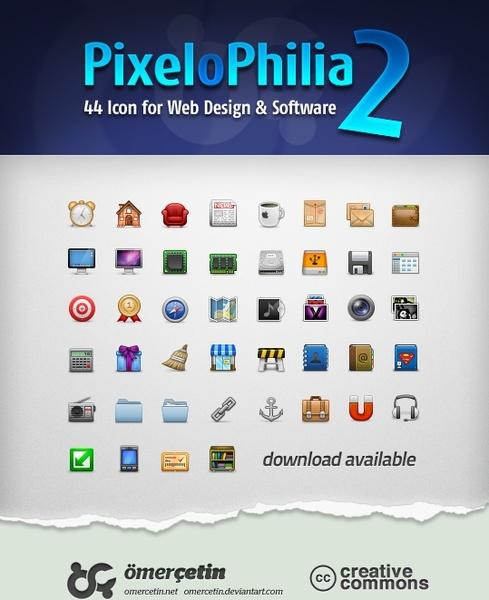 PixeloPhilia2 icons pack
