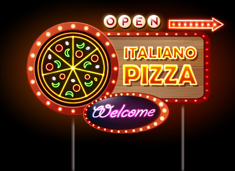neon sign open light bar restaurant pub palm signs beer tree room christmas glass signboard windows display opening game recreation