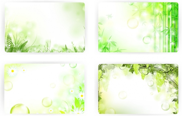 plant backgrounds vivid colorful grass bubble bamboo decor