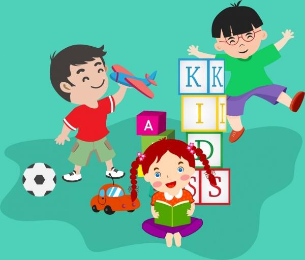 28+ Gambar Kartun Anak Anak Bermain - Kumpulan Kartun HD