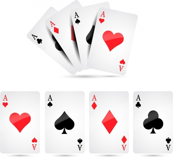 Playing Cards Free Vector 50552KB