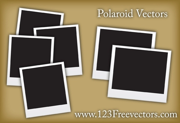 polaroid free vector download  55 free vector  for