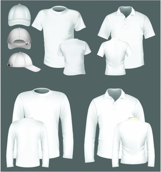 Polo Shirt And T Design Template