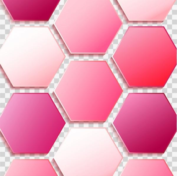 polygonal background modern pink decor