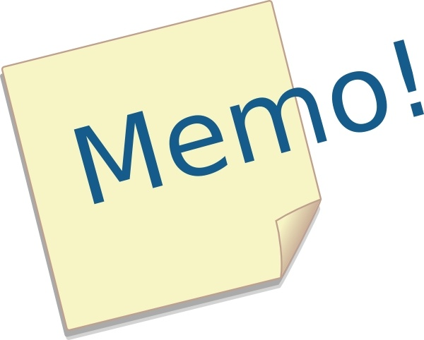 Post It Memo Clip Art Free Vector In Open Office Drawing Svg Svg